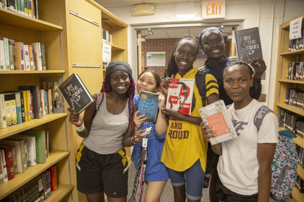 Students Bond Over Books at North's Literacy Night