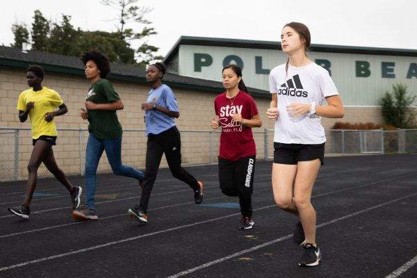 North Runner Legally Blind, Uncommonly Determined