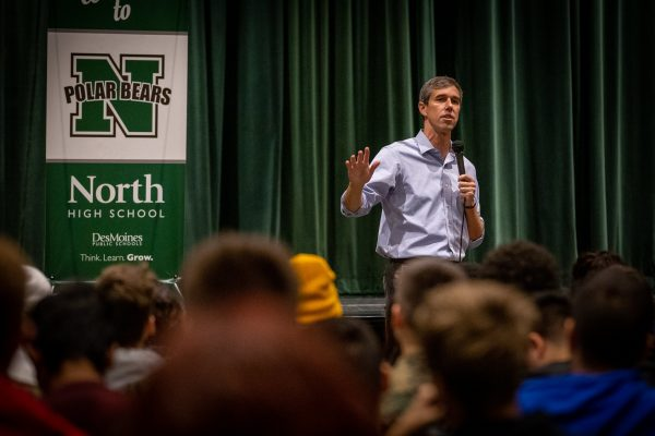 Presidential Candidate Beto O'Rourke Visits North High