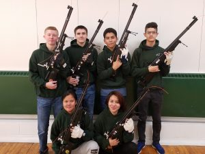 North Varsity shooting team