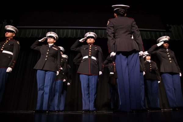 JROTC Leads North's Annual Veterans Day Ceremony
