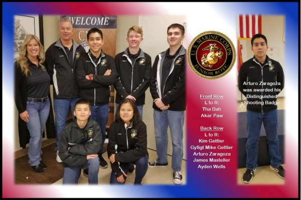 North High School MCJROTC Rifle Team places 4th!