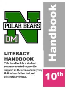Literacy Handbook Grade 10 Icon