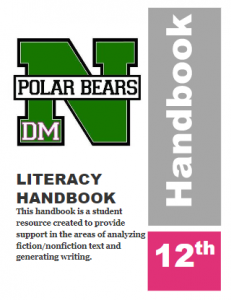 Literacy Handbook Grade 12 Icon